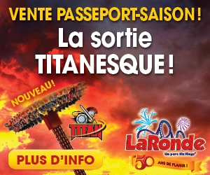 La Ronde Parc d'Attractions Six Flags