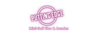 Putting Edge Centropolis Laval Mini-Golf Fluo & Arcades Logo