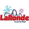 LA RONDE Parc six Flags Logo
