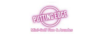 Putting Edge Spheretech St-Laurent Mini-Golf Fluo & Arcades Logo